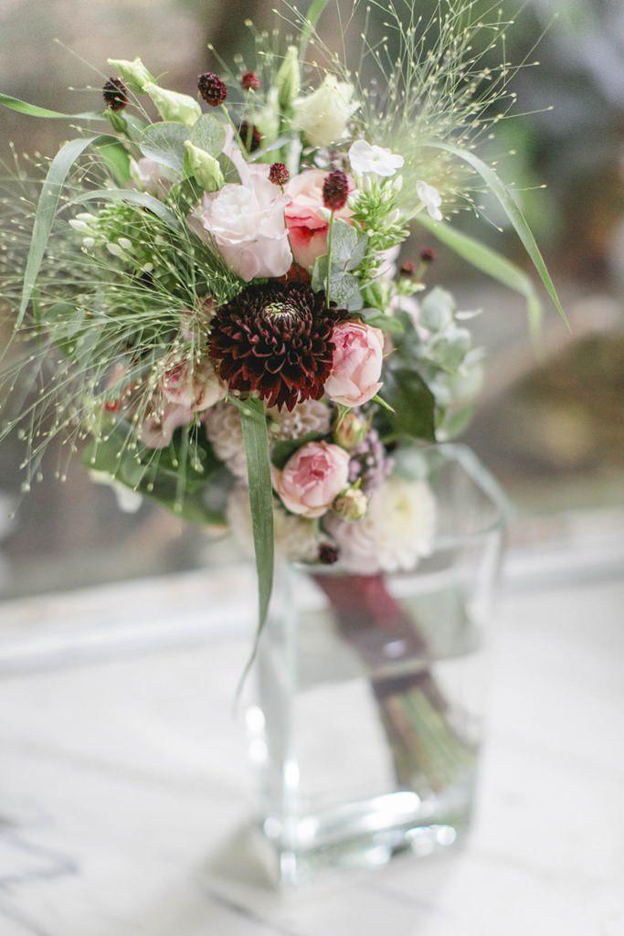 Brautstrauß in der Vase