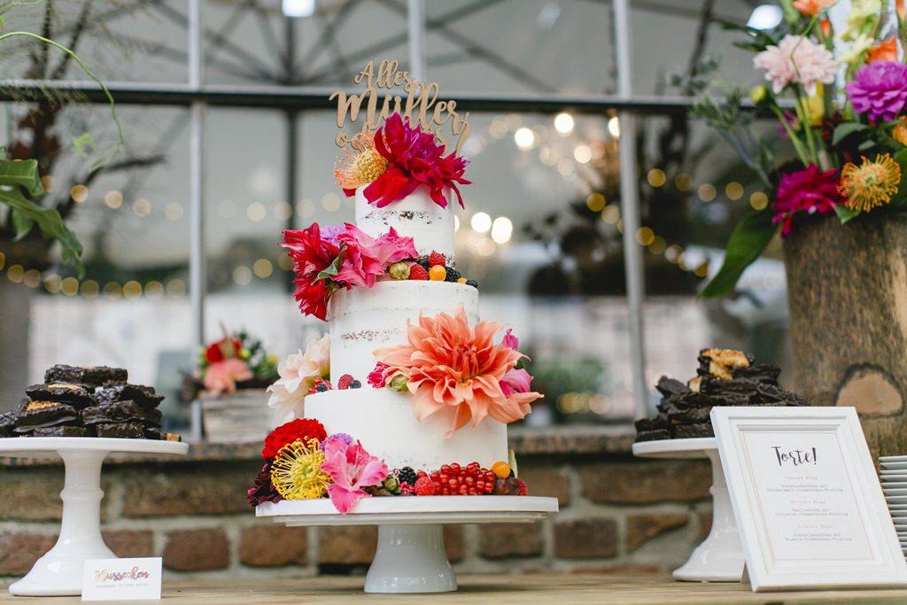Hochzeitsfoto vom Sweet Table einer Hochzeit