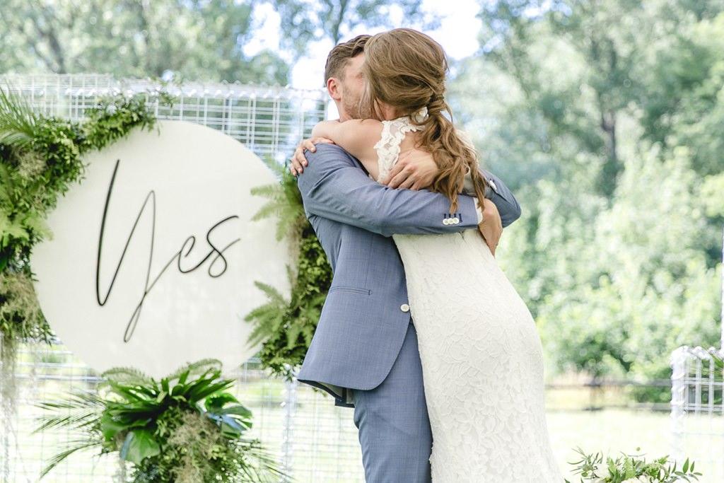 Hochzeitsfoto von Anika und Jonas Hector