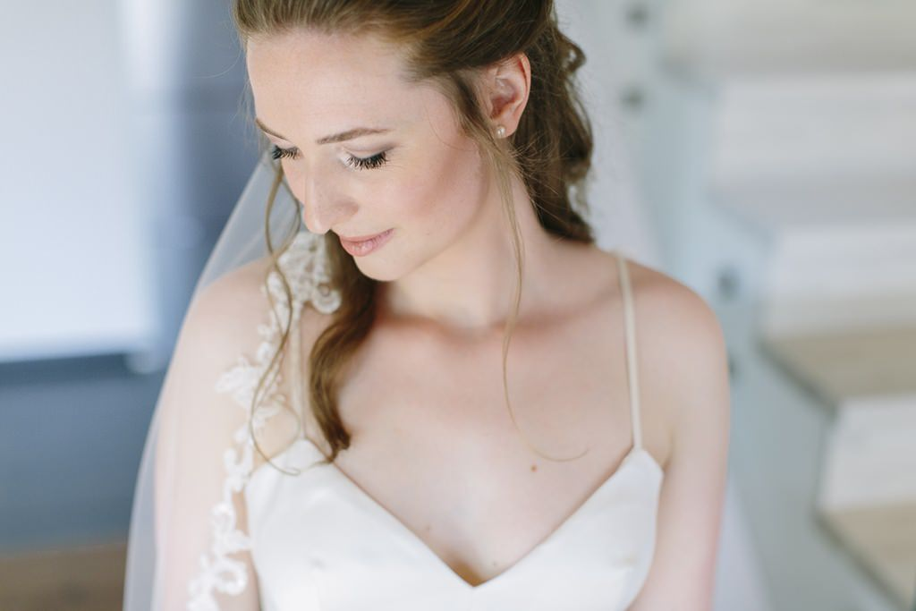 natürliches Brautportrait