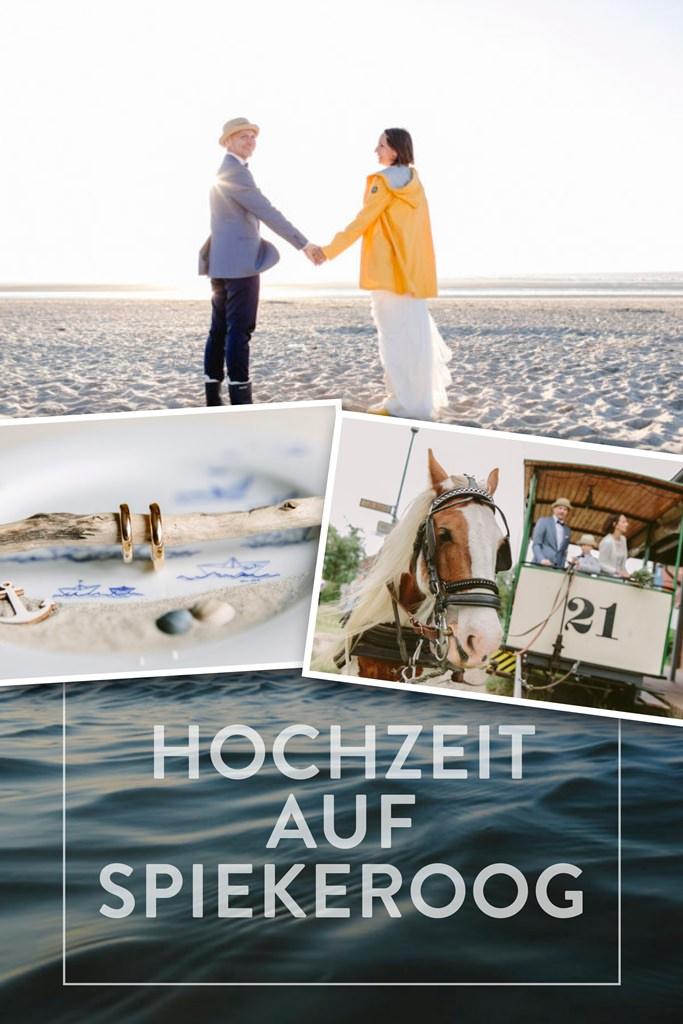 Hochzeitsfotos einer maritimen Hochzeit auf Spiekeroog | Foto: Hanna Witte