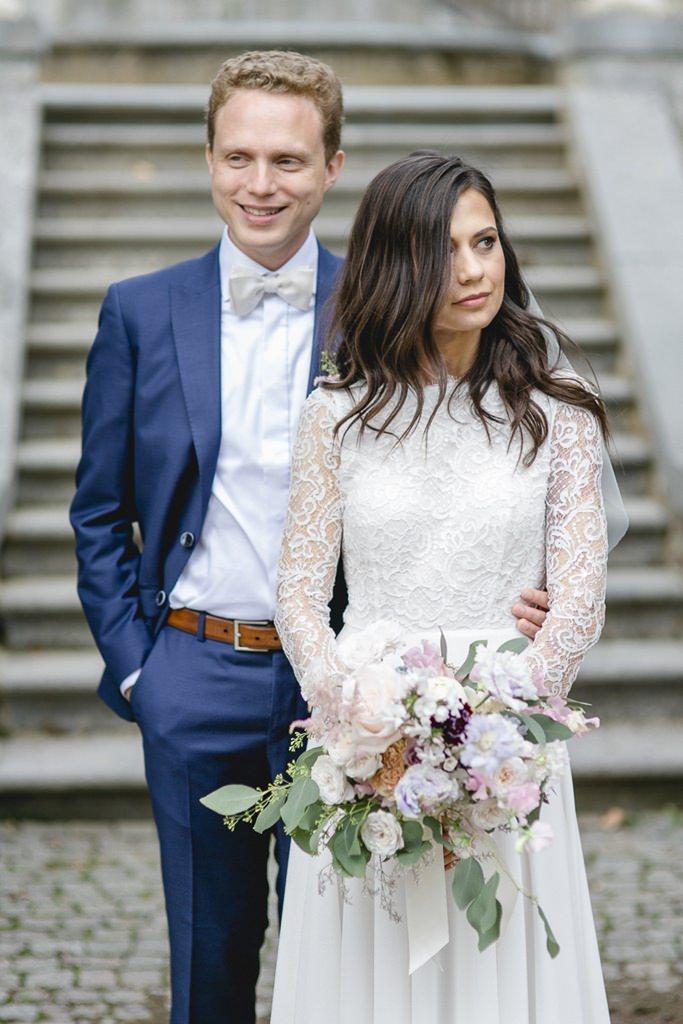 colles Paarfoto von Braut und Bräutigam   Foto: Hanna Witte