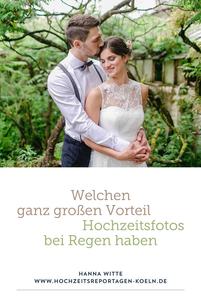 Vorteile von Hochzeitsfotos bei Regen | Foto: Hanna Witte