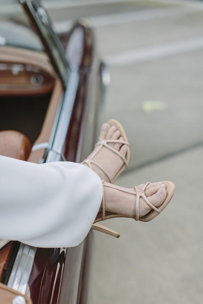 offene Brautschuhe mit hohen Absätzen | Foto: Hanna Witte